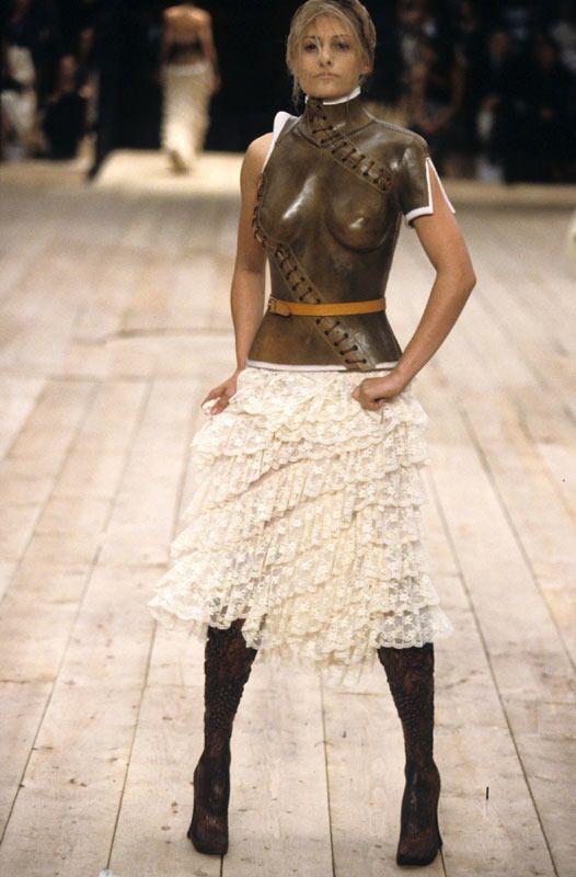 Aimee Mullins Alexander McQueen catwalk 1998