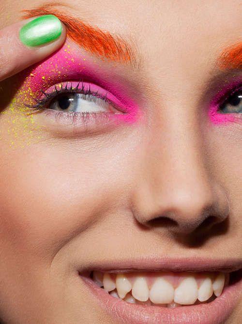 Tudo sobre maquiagem avant garde