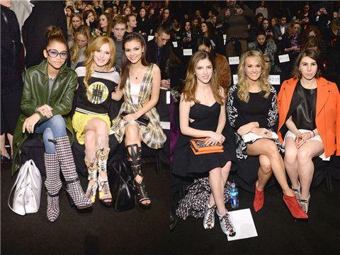 Outfits ideias primavera / verão surpreendentes de celebridades em nova semana york fashion