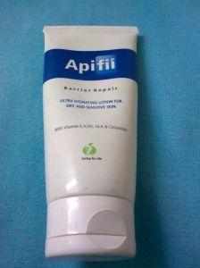 Apifil loção de reparação barreira para a pele seca e sensível