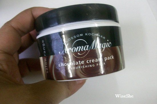 Aroma-Magic-Chocolate-Cream-Pack-reviews + cara Chocolate pacote comentários