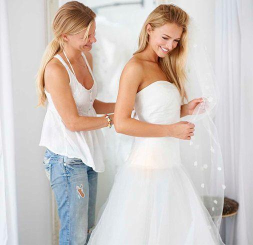 Vestido de casamento de compras Mistake