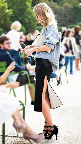 tendências da moda camisola