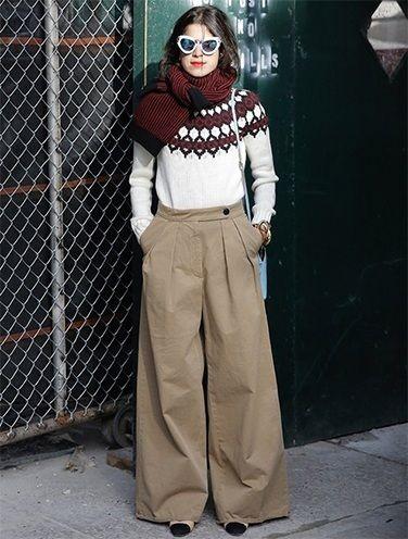 Formas criativas para usar um suéter