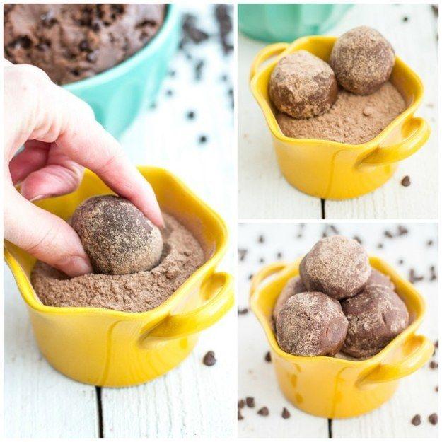 brownie mordidas