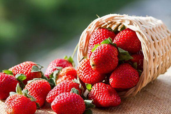 Benefícios de beleza de morango