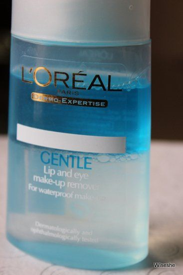 Loreal-Gentil-Lip-Eye-maquiagem-remover-review + -Loreal