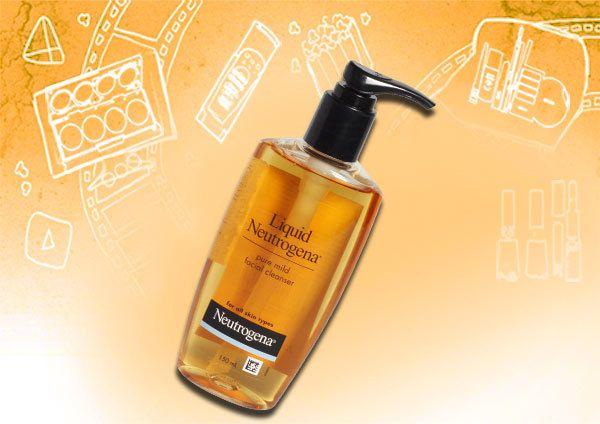 Neutrogena líquido limpador facial leve pura