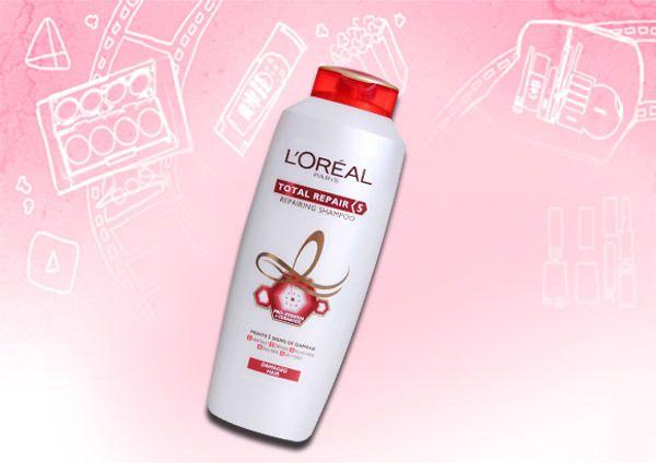loreal paris shampoo total de reparação