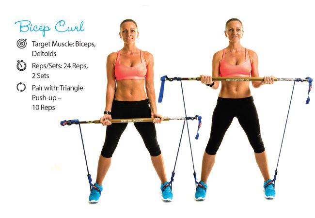 Bíceps com gymstick