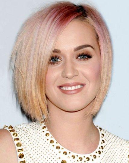 Katy Perry`s reverse ombre bob