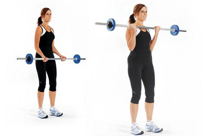 Bodybar onda do bicep - Mulheres`s Health & Fitness
