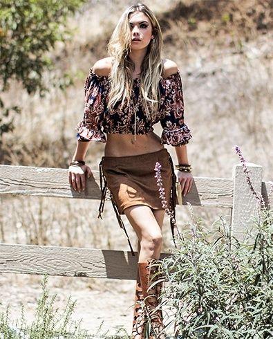 Gypsy Estilo Para Womens