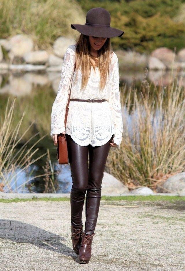 Boho Chic Fashion para a Primavera