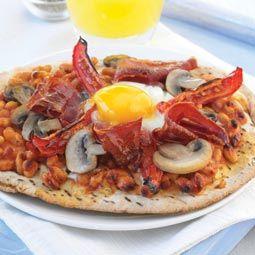 Café da manhã receita de pizza
