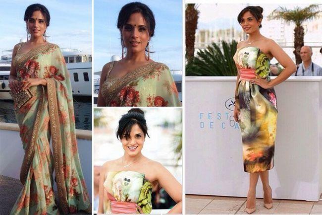 Richa Chadda em Cannes 2015 Festival de Cinema
