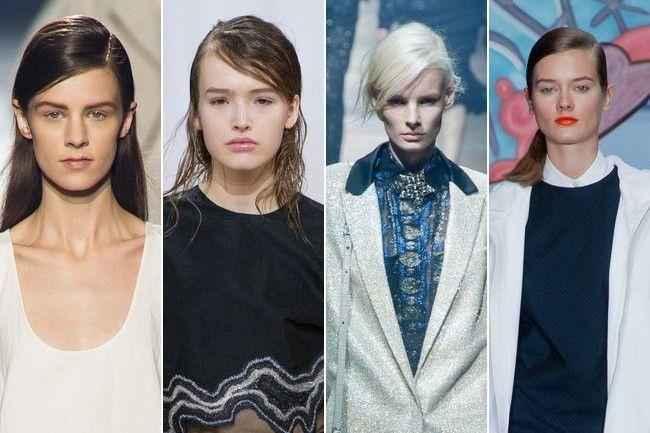 Penteados de celebridades: 2014 melhores penteados separaram-laterais para todas as mulheres