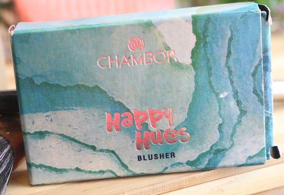 Chambor tons felizes blush 603 sereia avaliação rubor