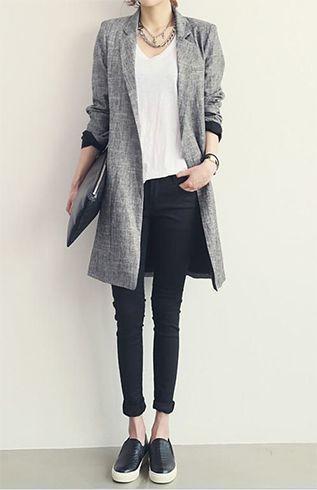 tons da moda cinza