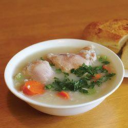 Receita da sopa de galinha