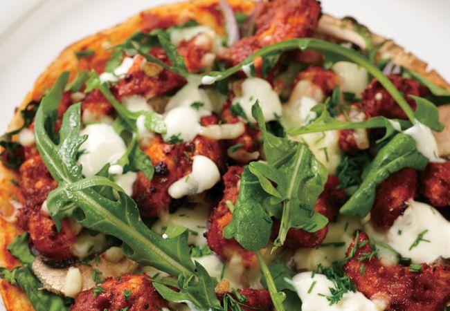Pizza frango tandoori
