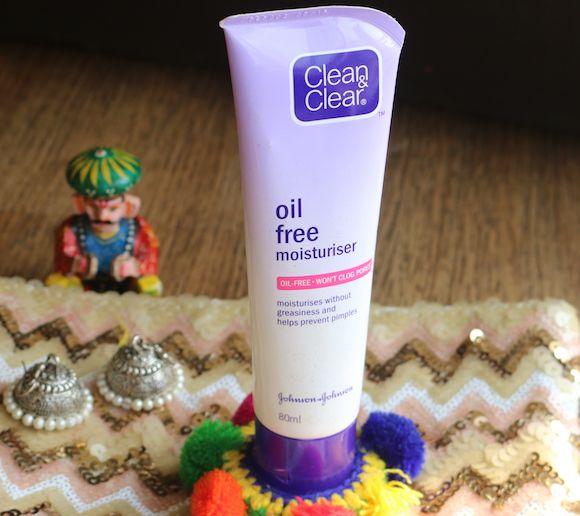 clean-e-claro-livre de óleo hidratante à embalagem