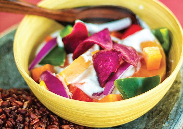 Coconut curry com tofu