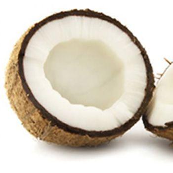 O óleo de coco para a pele seca