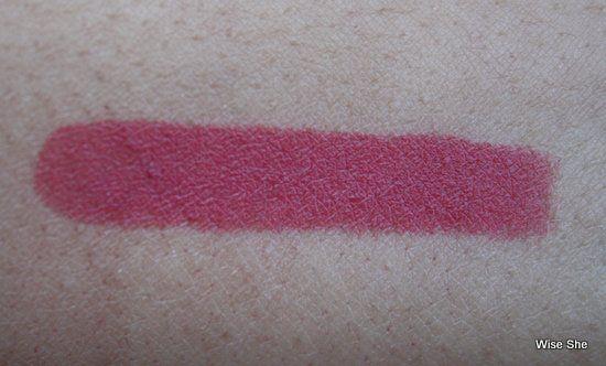 Colorbar Matte toque de rosa Chiffon amostra