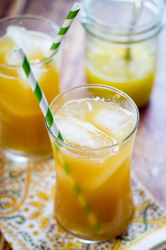 Abacaxi Ginger Iced Tea
