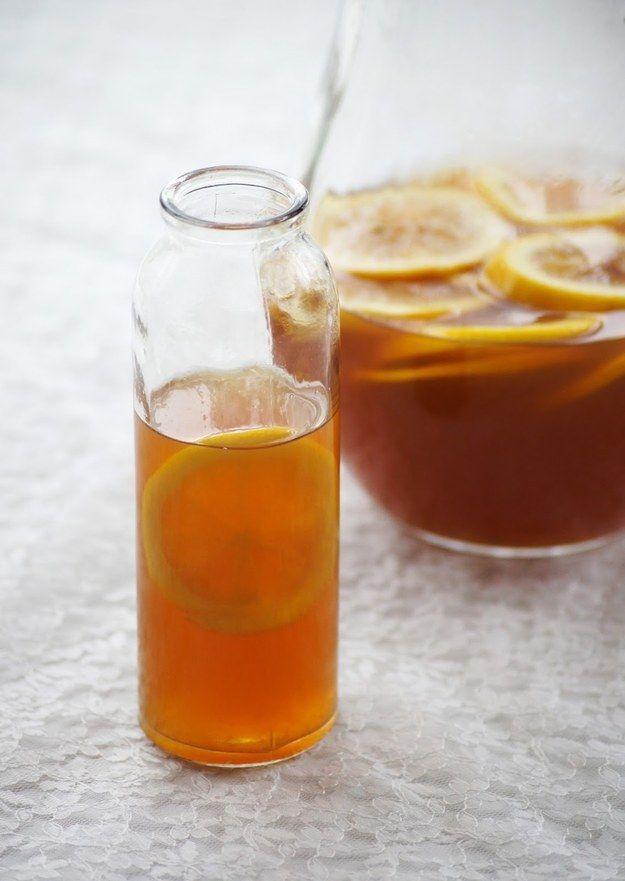 Mel Limão Iced Tea