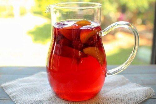 Framboesa Peach Iced Tea