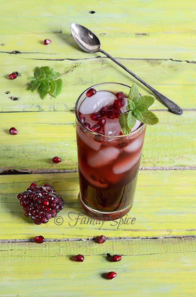 Romã Iced Tea
