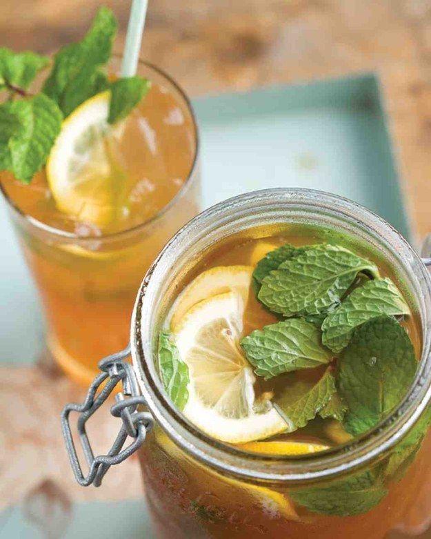 Lemony cravado chá doce