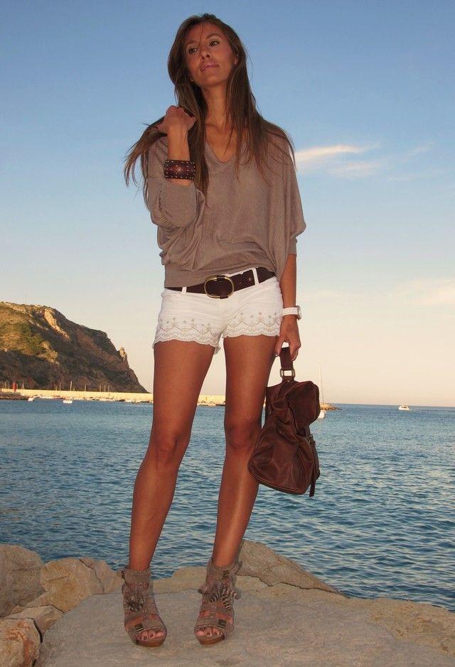 Idea Outfit na moda com Shorts