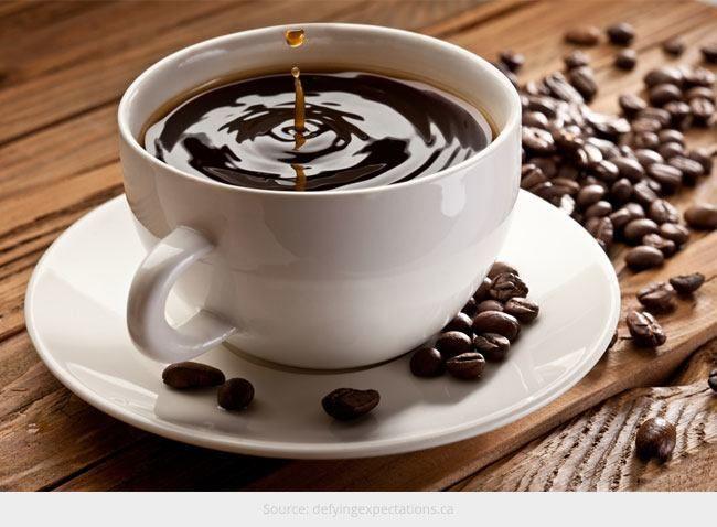 Café descafeinado para você saudável
