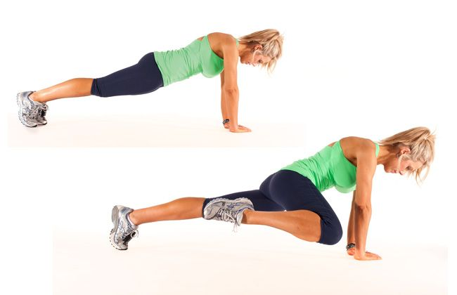 Diamante Lizards para tríceps, abs, deltóides - Mulheres`s Health & Fitness