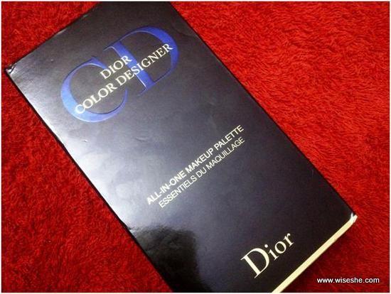 Dior designer de cor tudo-em-um de maquiagem avaliação paleta