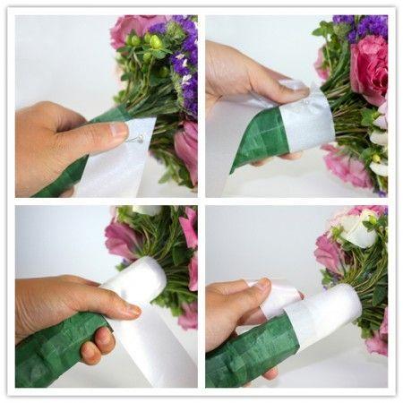 Tutoriais bouquet diy para cada menina