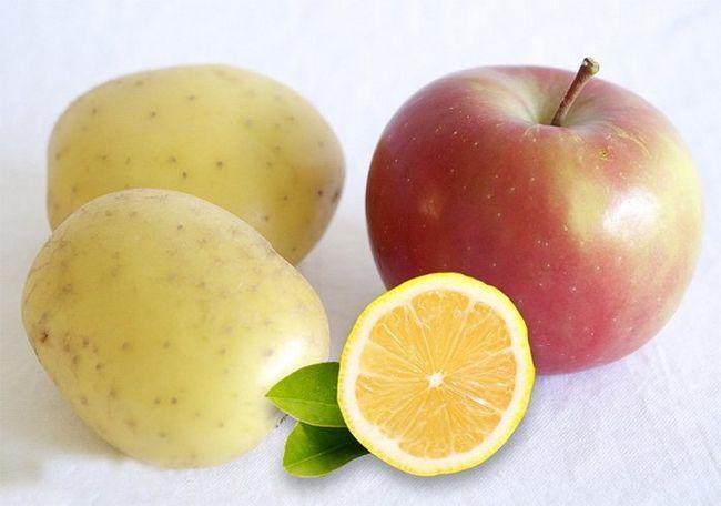 A Apple batata e uma máscara de limão