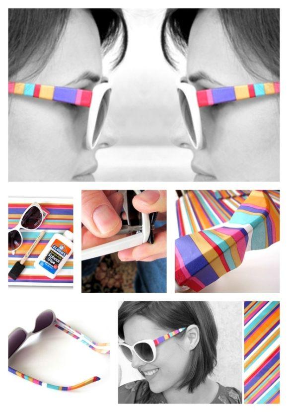 Óculos de sol do arco-íris