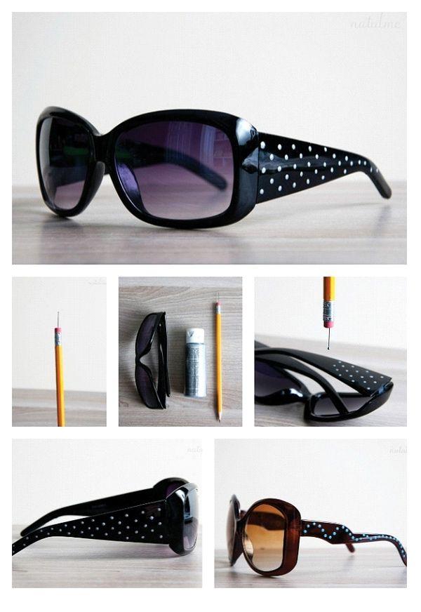 Óculos de sol com Dots