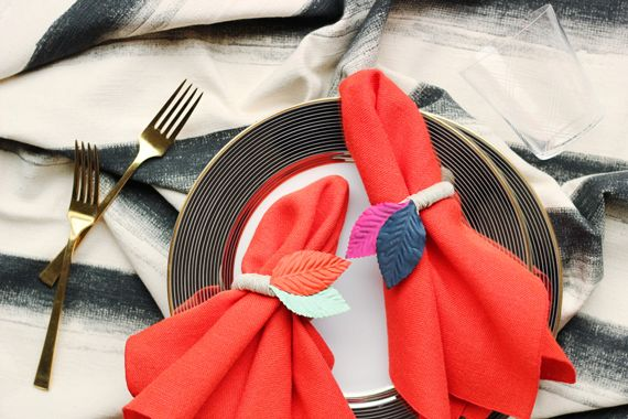 Projetos de diy: como fazer anéis de guardanapo