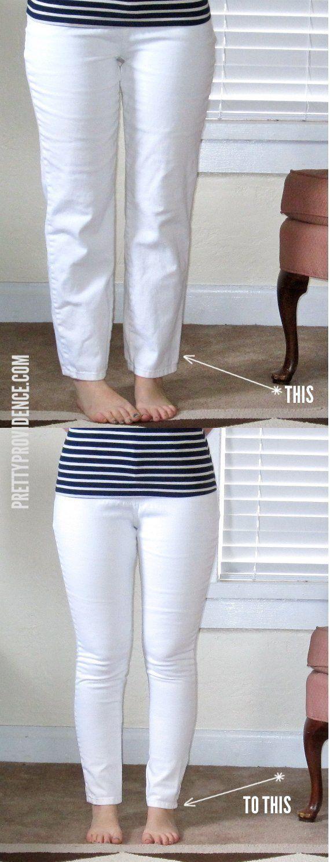 Projetos de diy: faça jeans skinny em seu próprio país