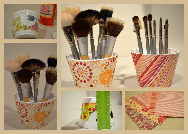 Projetos diy: organizadores de maquiagem