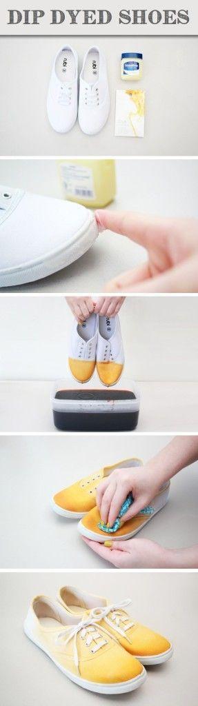 Projetos de diy que fazer: consideravelmente sapatos tutoriais