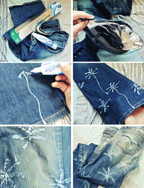 Palmeira Jeans impressos