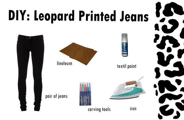Jeans leopardo