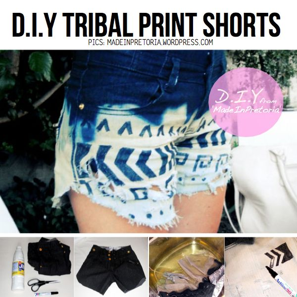 Shorts cut-out