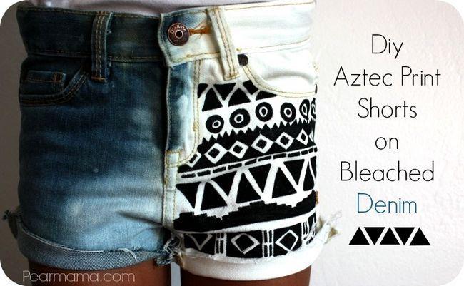 Shorts cópia preto e branco